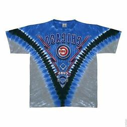 Chicago Cubs Men's Tie Dye T-shirt - 9324-9327