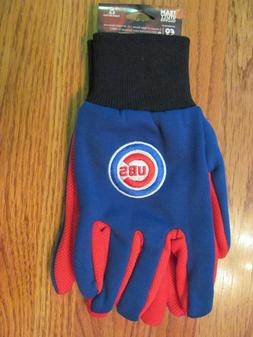 CHICAGO CUBS Men's UTILITY GLOVES~One Pair ~ NEW w/tags