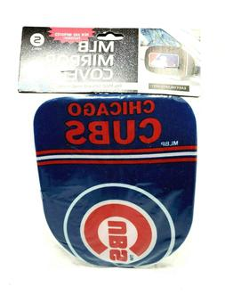 chicago cubs mirror covers mlb baseball