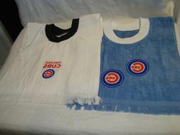 Chicago Cubs MLB Baseball Handmade/Tea Towel Children's/Baby