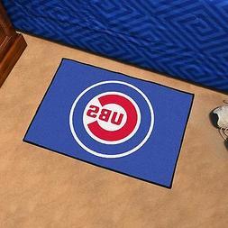 "Chicago Cubs MLB 19""x30"" Bath Area Door Welcome Mat Man Cave"
