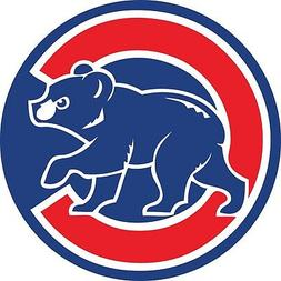 Chicago Cubs MLB Color Die Cut Vinyl Decal Sticker - You Cho