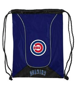 Chicago Cubs MLB Doubleheader Blue Backsack Nylon Drawstring