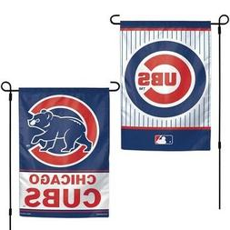 "Chicago Cubs MLB Garden Flag Double Sided Licensed 12"" x 18"""