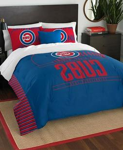 Chicago Cubs™ MLB Logo Baseball Twin Comforter & Pillow Sh