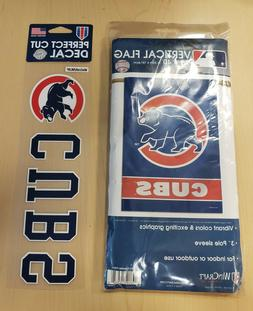 Chicago Cubs MLB Vertical House Flag Banner Licensed Basebal