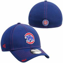Chicago Cubs New Era Neo 39THIRTY Stretch Fit Flex Mesh Back