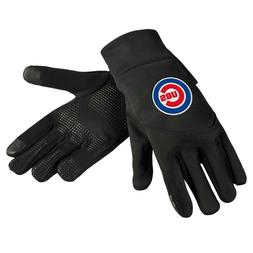 Chicago Cubs Neoprene Gloves Sports Logo Winter NEW Texting