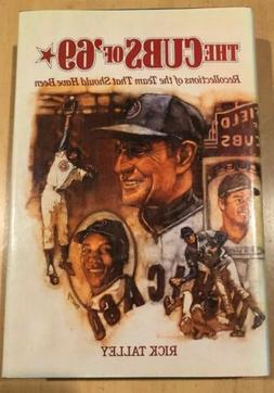 Chicago Cubs Of '69 Book Lovable Losers Talley