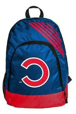 CHICAGO CUBS ~ Official MLB Team Logo Blue & Red Book Bag Ba