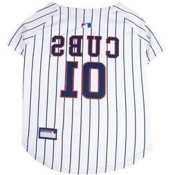 Chicago Cubs Pet Jersey:  MLB Official Pet Product