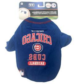 Chicago Cubs PET SHIRT Dog Costume SMALL Property of Cubs Ba