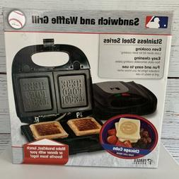 Chicago Cubs Sandwich and Waffle Grill by Pangea Brands MLB