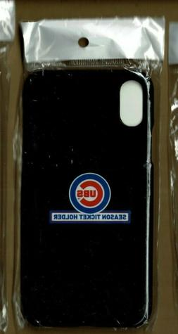 CHICAGO CUBS SEASON TICKET HOLDER Apple iPhone X Cell Phone