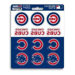 Chicago Cubs - Set Of 12 Sticker Sheet