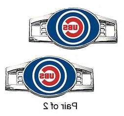 Chicago Cubs Shoe Charms / Paracord Charms