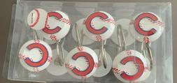 Chicago Cubs Shower Hooks- Official