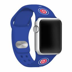 Chicago Cubs Silicone Sport Band Compatible With The Apple W