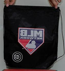 Chicago Cubs Small Black Drawstring Gym Bag MLB Network