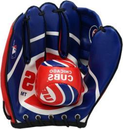 Chicago Cubs Soft Baseball & Glove Set
