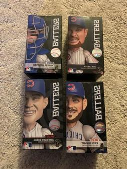 Chicago Cubs Sports Crate Ballers Collectible Figure Lot 4 B