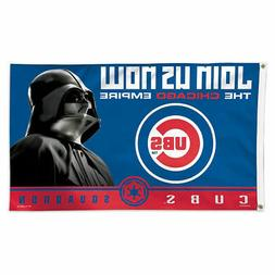 Chicago Cubs Star Wars Cubs Squadron Banner Flag