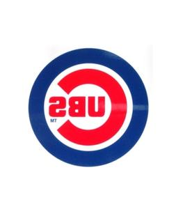 Rico Industries Chicago Cubs Static Cling Decal