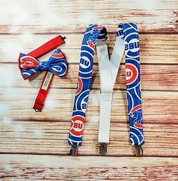 Chicago Cubs Suspenders By SweetLooks Collection