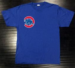 Chicago Cubs T-Shirt Bear Graphic Chi Cotton Men Adult Logo