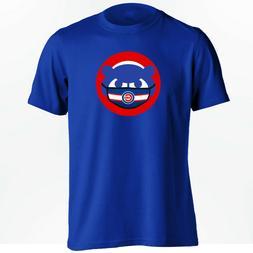 Chicago Cubs T-Shirt - Cubbie Bear Face Mask Shirt - S to 5X