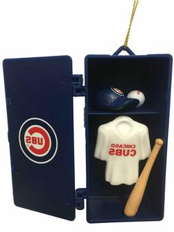 CHICAGO CUBS TEAM LOCKER CHRISTMAS ORNAMENT 3.5""