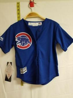 Majestic Chicago Cubs Toddler 2T Royal Blue Official Cool Ba