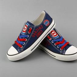 CHICAGO CUBS Unisex Men's Women's Glow in the Dark Shoes Sne