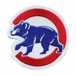 Chicago Cubs Walking Cub Sleeve Emblem Patch Jersey MLB Home