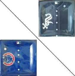 """Chicago Cubs White Sox Jersey Style Paper Baseball MLB 10"""" P"""