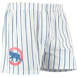 Chicago Cubs Concepts Sport Vigor Boxer Shorts - White