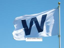 "CHICAGO CUBS ""W"" WIN FLAG MLB 3' X 5'"