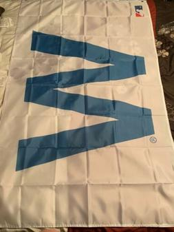 Chicago Cubs Win Fly The W 3x5 Win Victory Flag Man Cave Ban