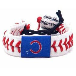 Chicago Cubs Women's Baseball Bracelet - White