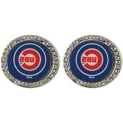 Chicago Cubs WinCraft Women's Round Post Earrings
