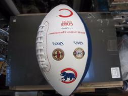 Chicago Cubs World Series Champion Football 1907 1908 Chicag