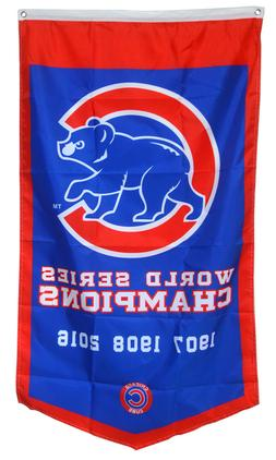 Chicago Cubs World Series Champions  Flag Banner Man Cave 30