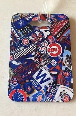 Chicago Cubs World Series Luggage Tag