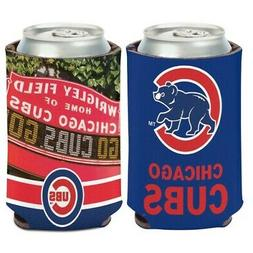 CHICAGO CUBS WRIGLEY FIELD NEOPRENE CAN BOTTLE COOZIE KOOZIE