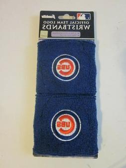 Chicago Cubs Wristbands NEW Set of 2 Sweatbands