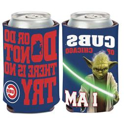Chicago Cubs Yoda Can Cooler 12 oz. Star Wars Koozie