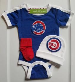 Cubs infant/baby 3 pc outfit Cubs baby shower Cubs infant/ne