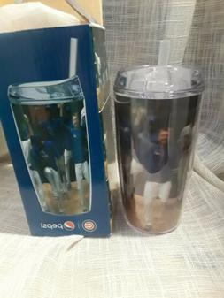 Cubs Pepsi Thermos Tumbler Holographic