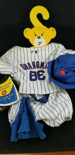 Doll Clothes - Build A Bear - New - Chicago Cubs Zambrino Un