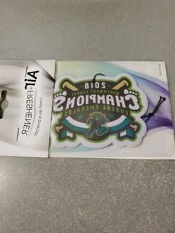 Eugene emeralds Air Freshener, Chicago Cubs Minor League. Ch
